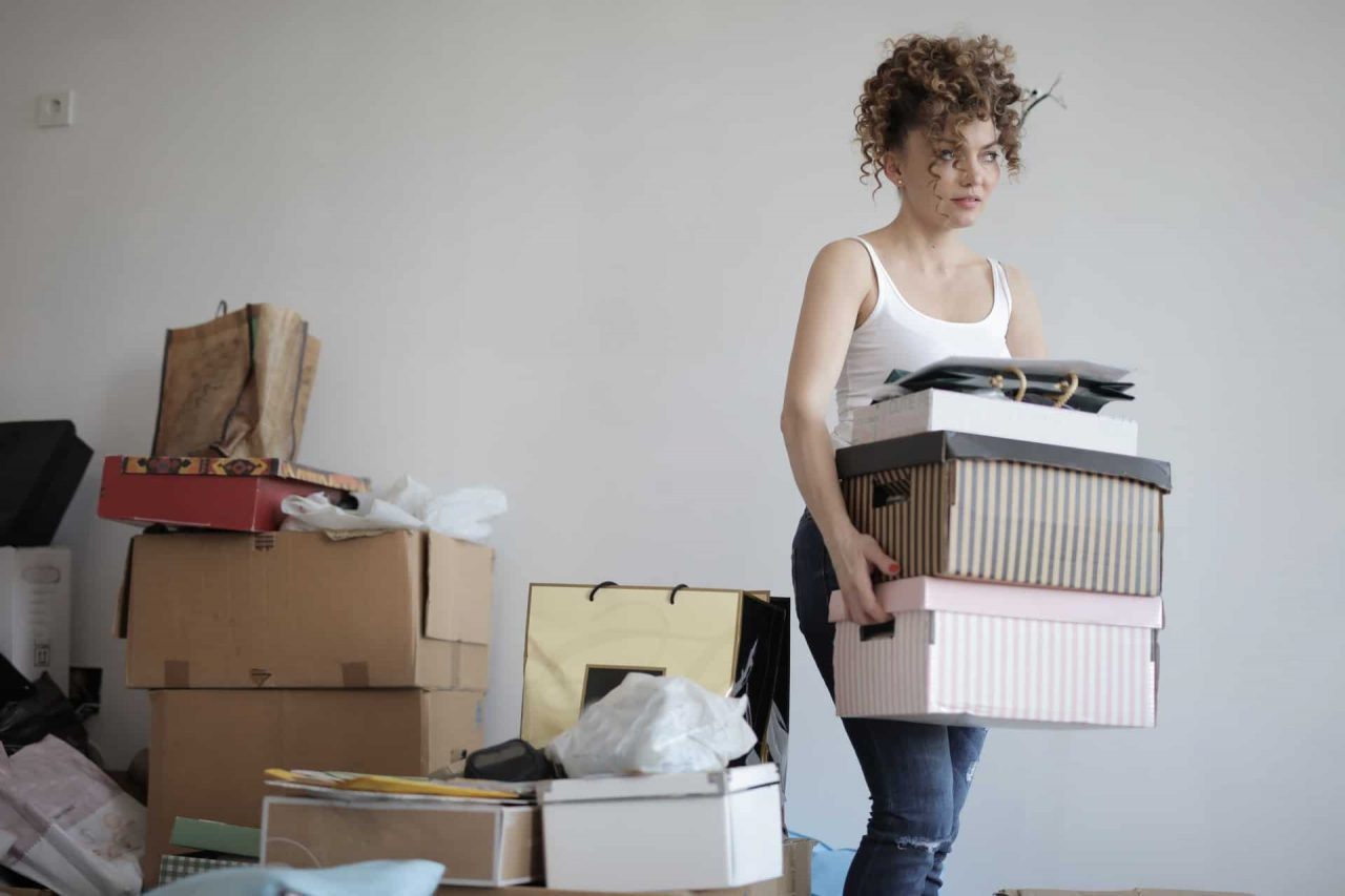 Decluttering and Cleaning your house